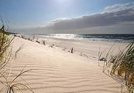 Szerokie plaże